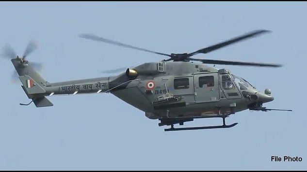 IAF chopper makes precautionary landing in field near Saharanpur in UP
