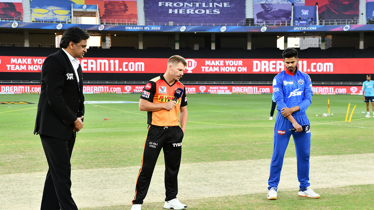 DC win toss, choose to field first against SRH
