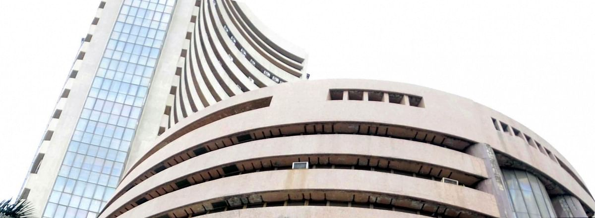 Markets at fresh high, Sensex crosses 44,800