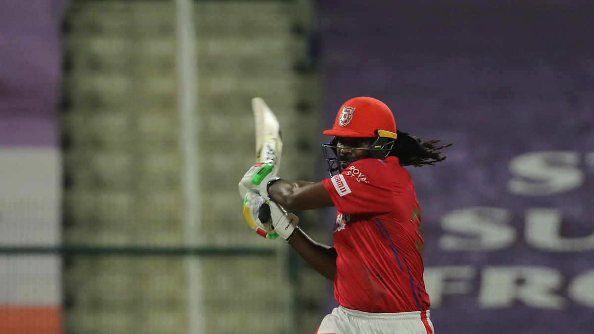 Gayle's 99 takes KXIP to 185/4 vs RR