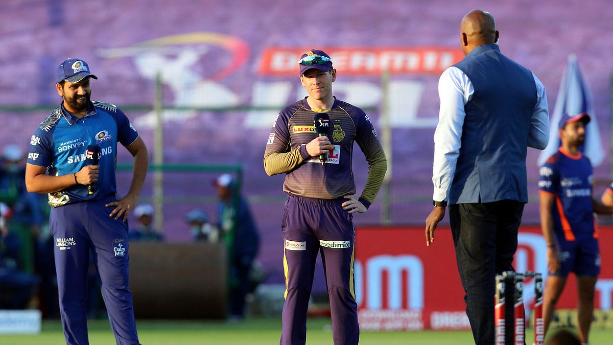 New KKR captain Morgan wins toss, opts to bat against Mumbai