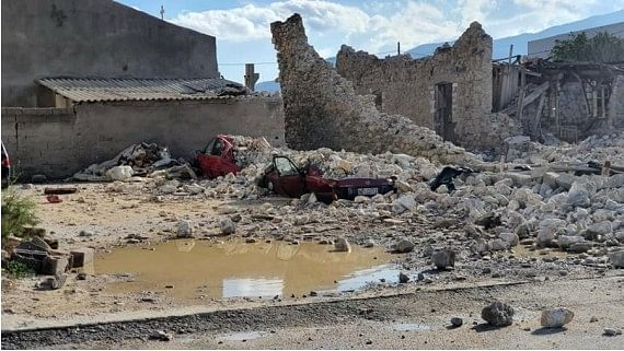 Greece, Turkey pledge mutual aid after 6.7-magnitude quake