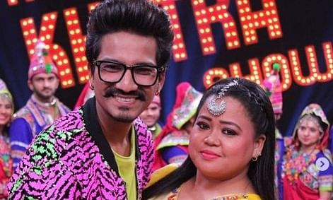 Comedians Bharti Singh and her husband Harsh Limbachiya