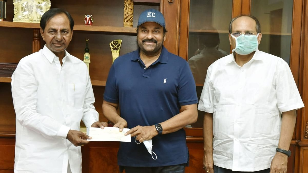 Telugu actor Chiranjeevi tests positive for COVID-19, had met Telangana CM two days ago