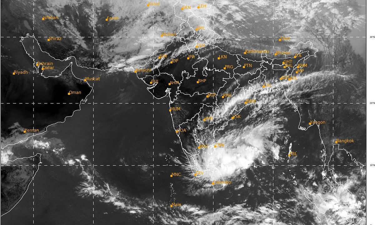 Cyclone Nivar likely to intensify and cross TN, Puduchery coasts on Wednesday evening