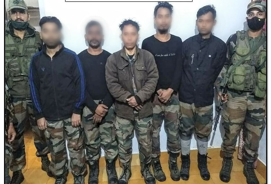 Top ULFA (I) leader Drishti Rajkhowa surrenders to Indian Army