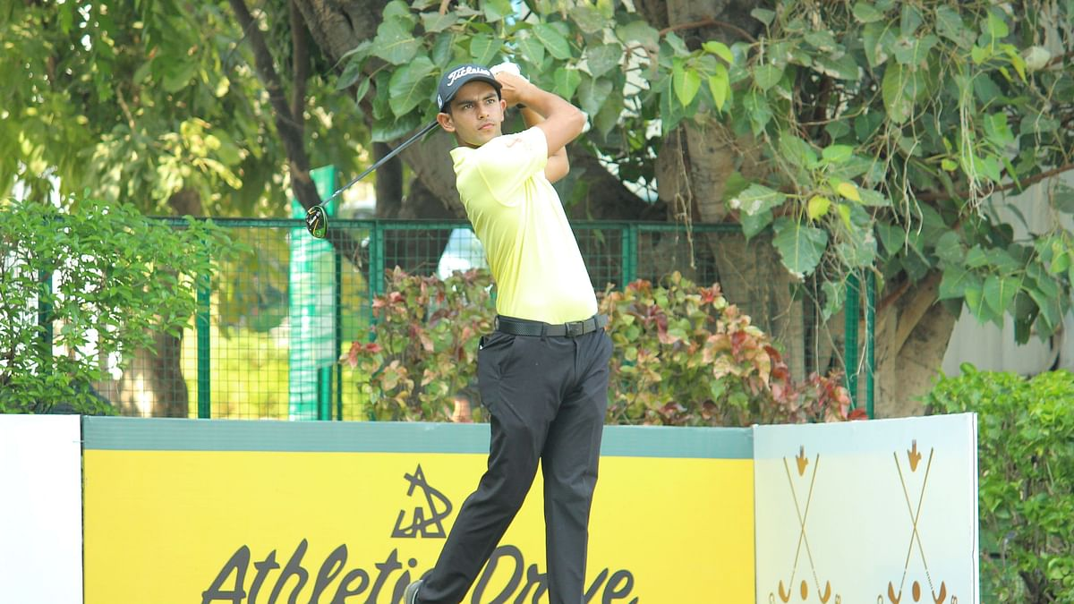 Golf: Aadil Bedi leads round one with a flawless 65