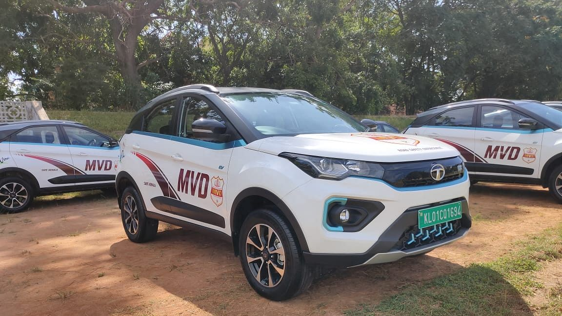 Tata Motors delivers 45 Nexon EVs to Kerala's Motor Vehicle Department