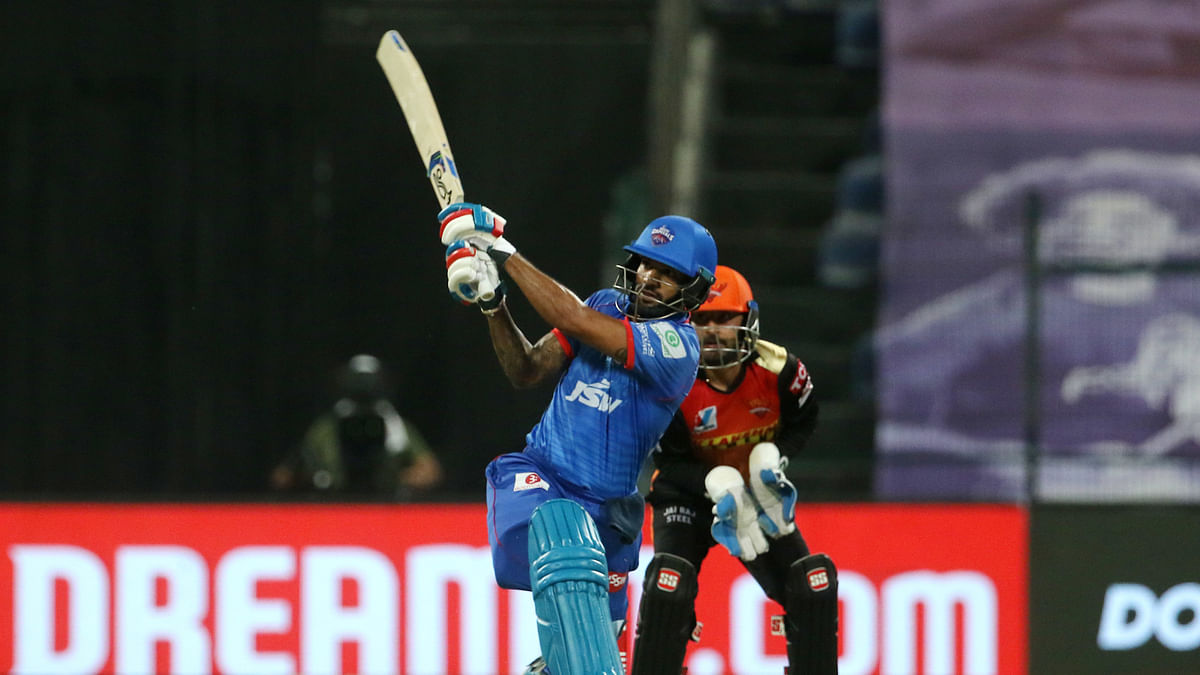 Dhawan leads DC to 189/3 against sloppy SRH