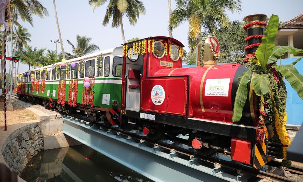 Kerala CM dedicates India's first solar-powered Miniature Train at Veli Park