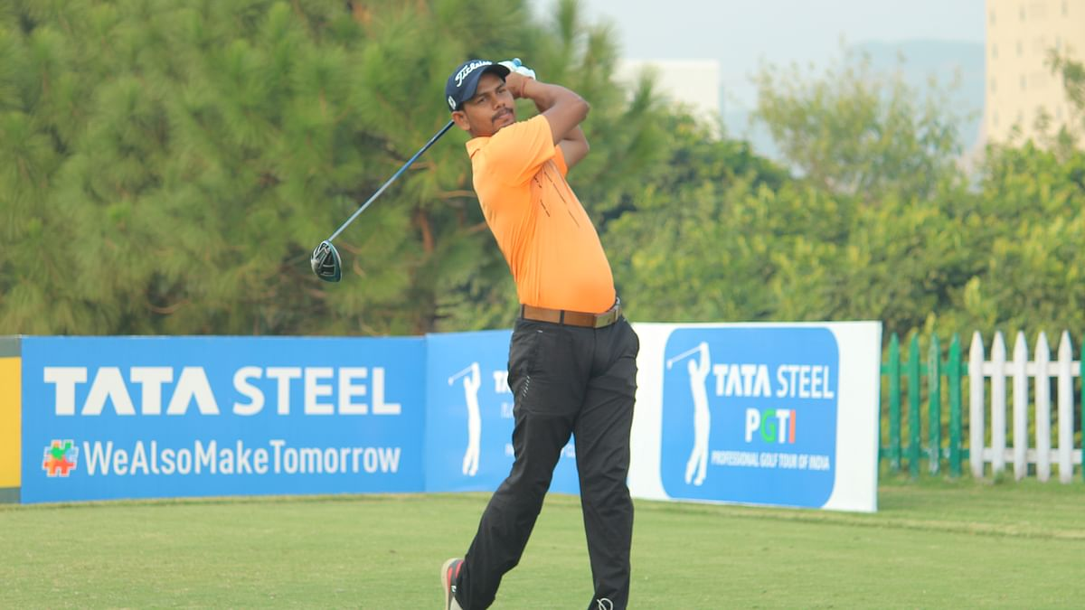 Golf: Local challenger Akshay Sharma leads round one with eight-under 64