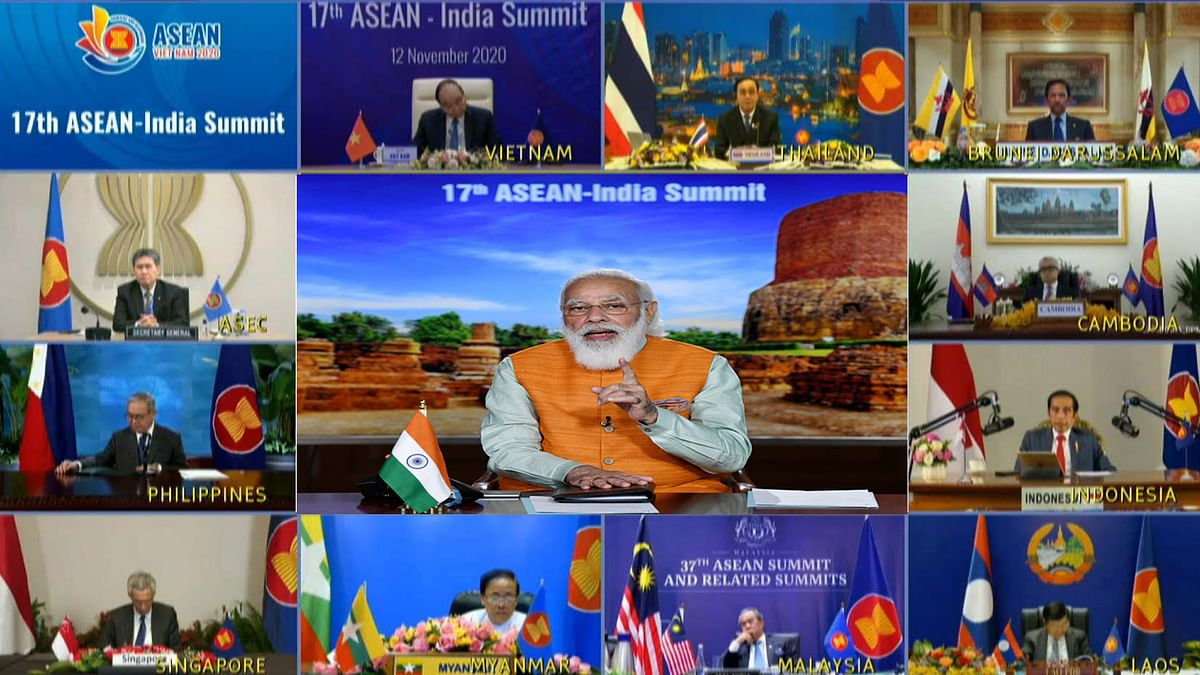 Modi says 'cohesive and responsive' ASEAN essential for growth, security of region