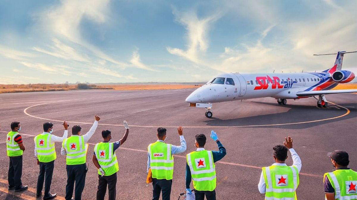 First direct flight from Kalaburagi to Hindon flagged off under UDAN scheme
