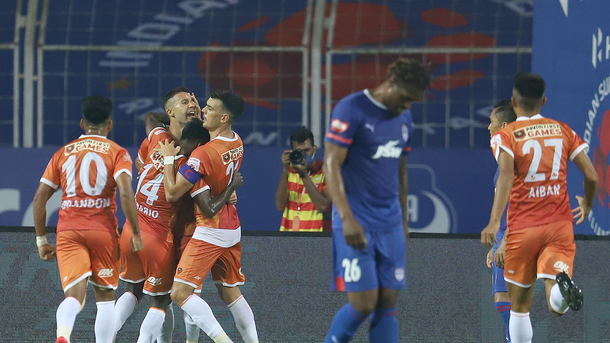 Football ISL: Angulo's brace completes Goa's stunning comeback against Bengaluru