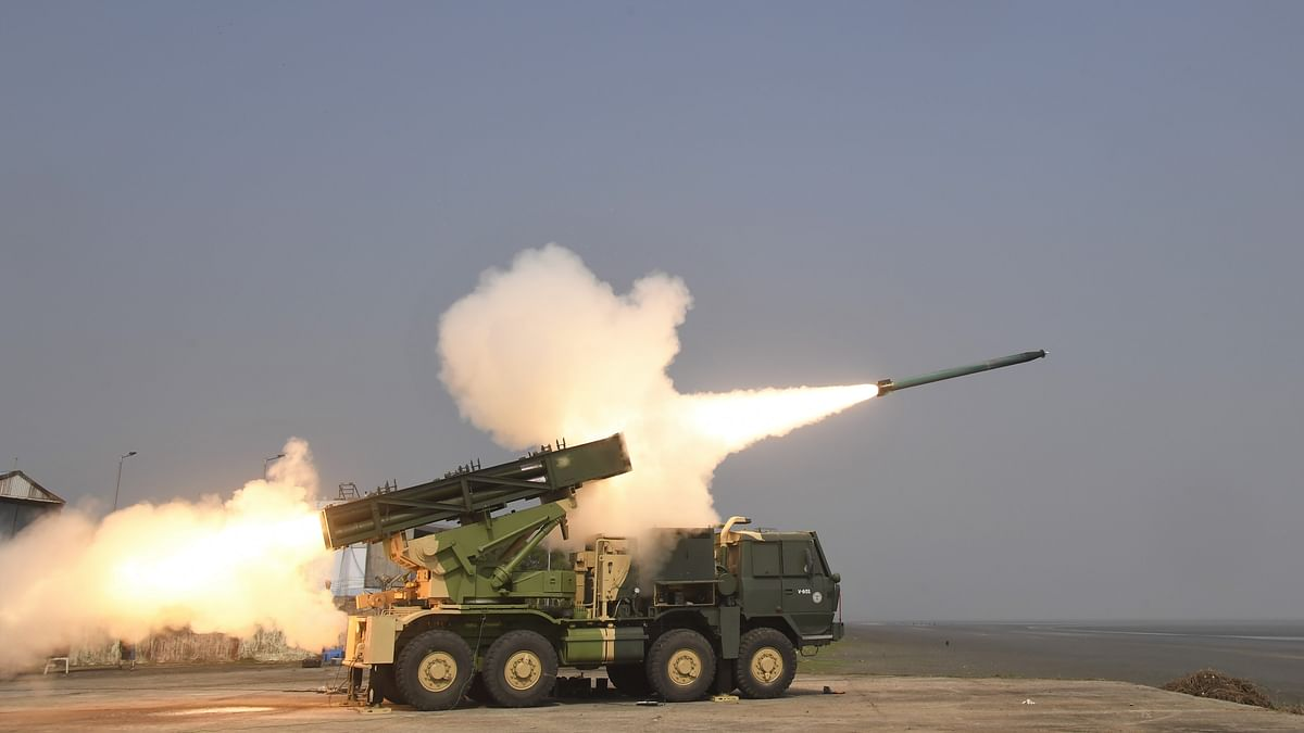 India successfully flight-tests  enhanced version of Pinaka rocket system