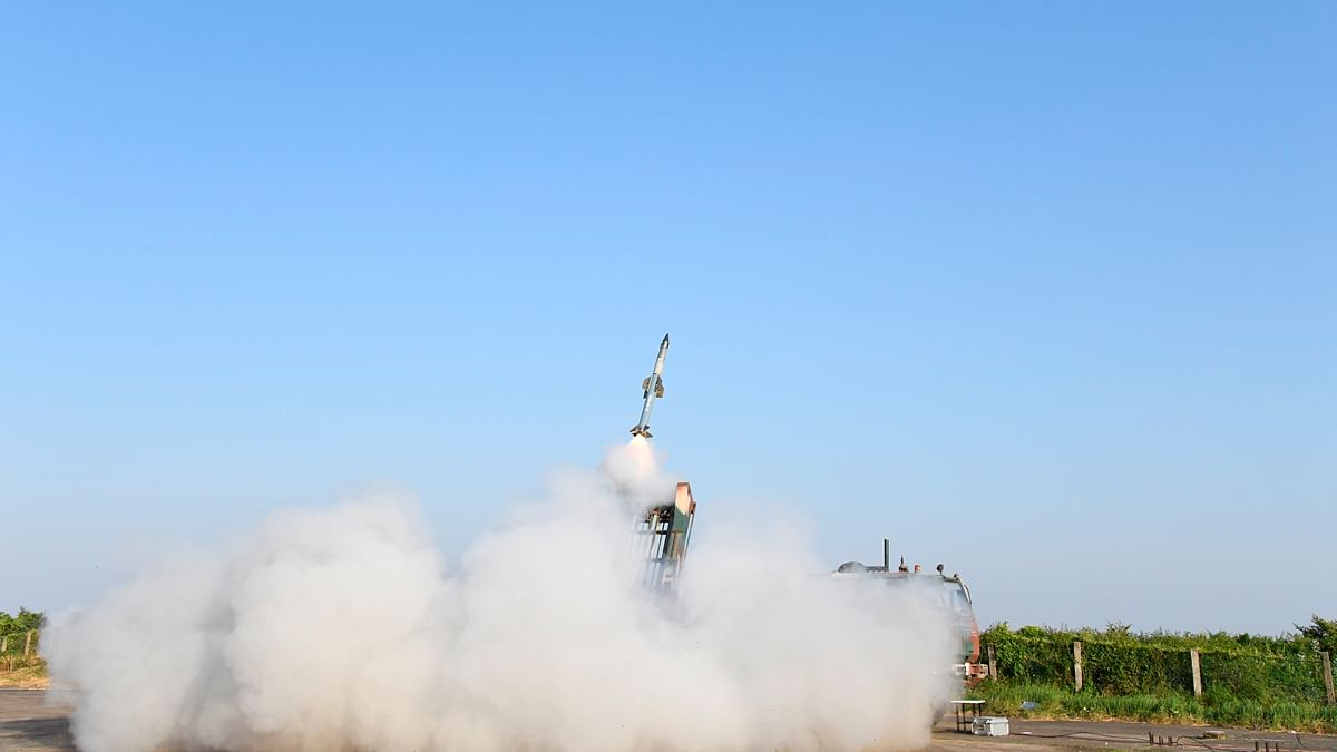 India's QRSAM Missile System achieves major milestone