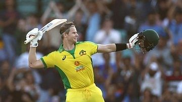 1st ODI: Tons from Finch, Smith help Australia set 375-run target for India