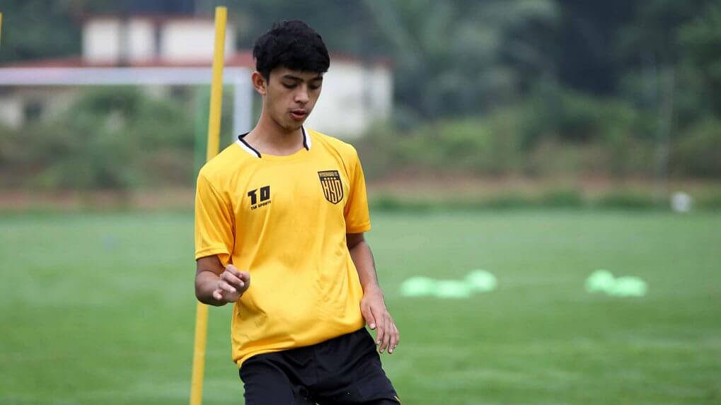 Young striker Rohit Danu banks on 'scoring mentality' to succeed in his first Hero ISL season