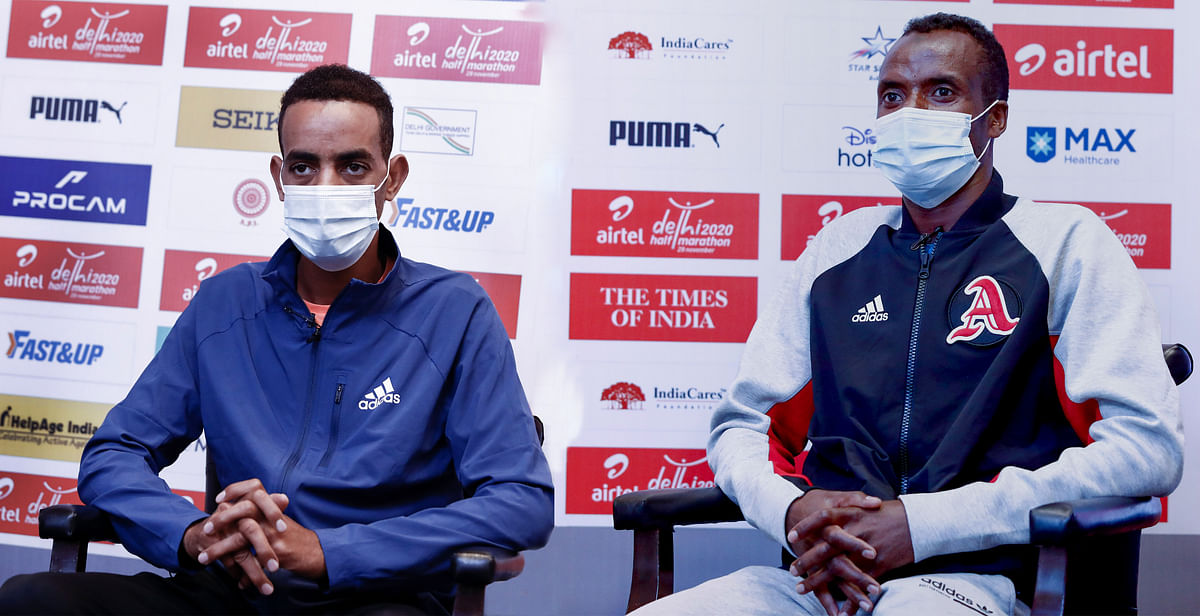 Defending champions Belihu and Gemechu confident of new course records at Airtel Delhi Half Marathon