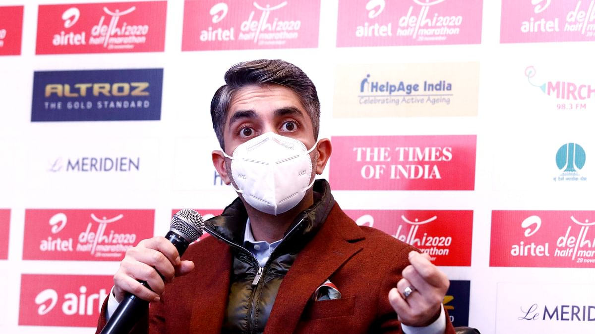 Airtel Delhi Half Marathon a very significant moment for Indian sports:  Abhinav Bindra
