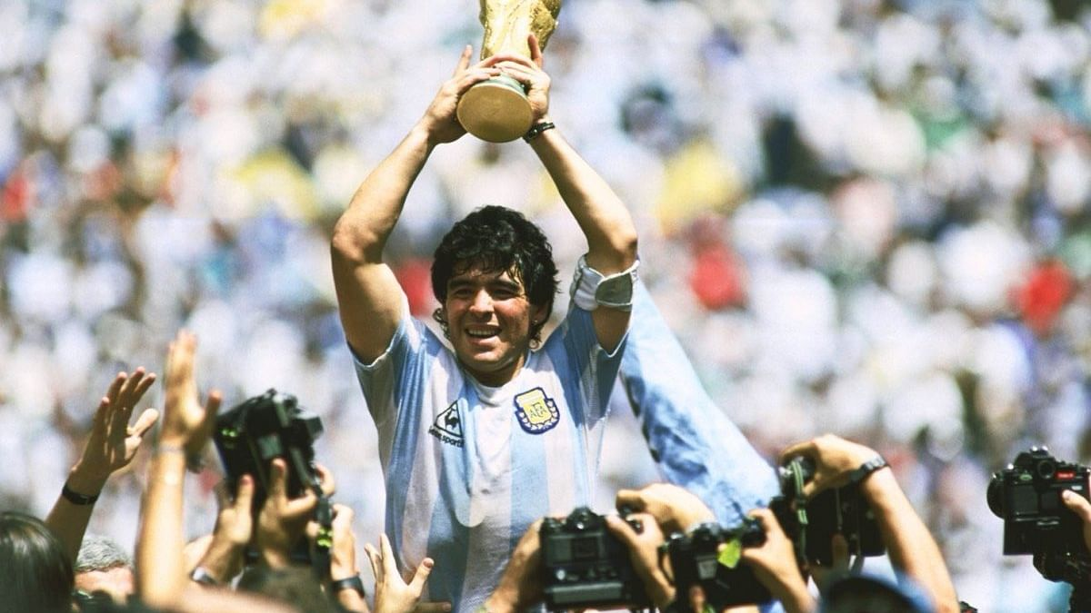 Iconic footballer Diego Maradona no more