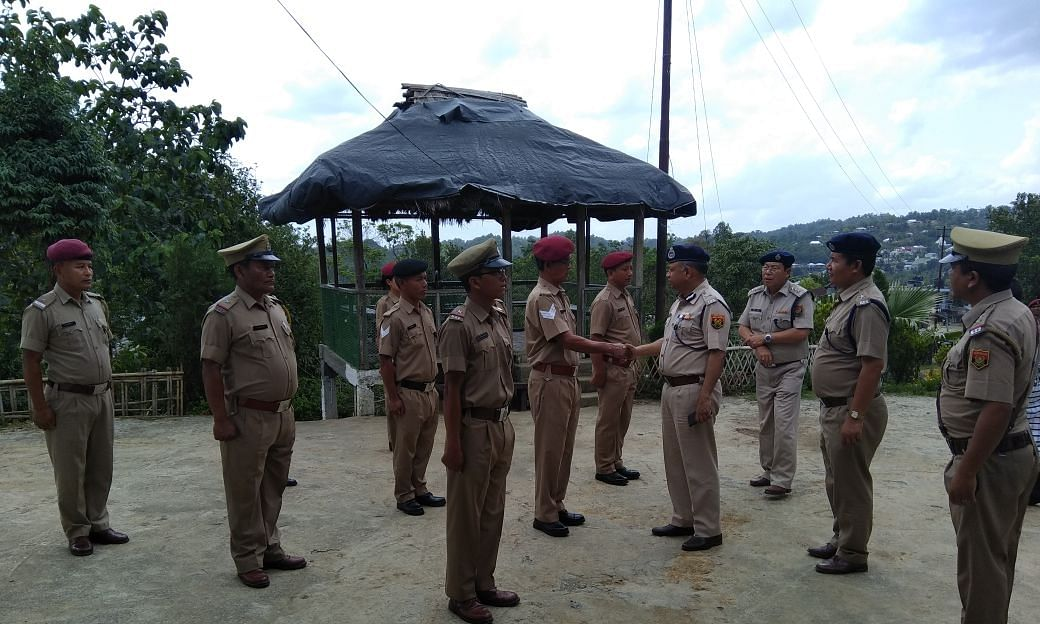A file photo of Mizoram Police