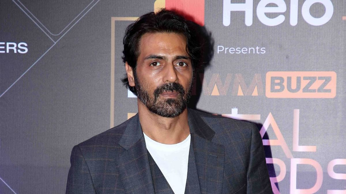 Actor Arjun Rampal at NCB office for questioning in drugs-related case