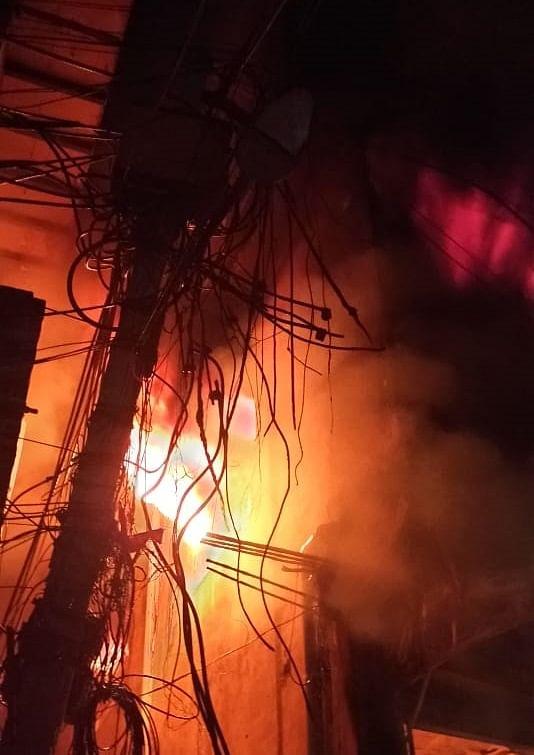 Major fire in Delhi's Gandhi Nagar cloth market