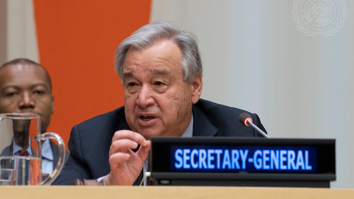 Climate change: UN chief calls for 'great leap' towards carbon neutrality