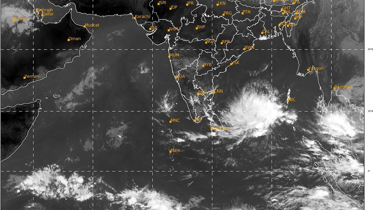 IMD issues pre-cyclone watch  for south Tamil Nadu, south Kerala coasts
