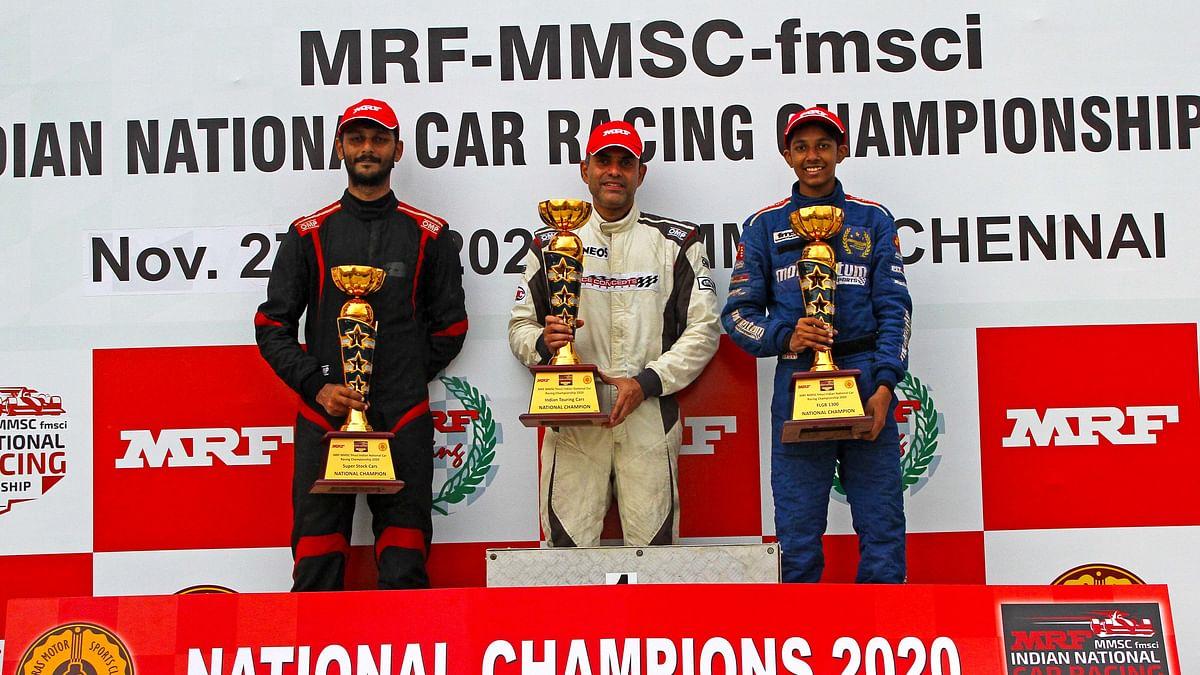 Motorsport: Arjun Balu annexes crown in third attempt, titles for Tijil Rao, Raghul Rangasamy, Diljith