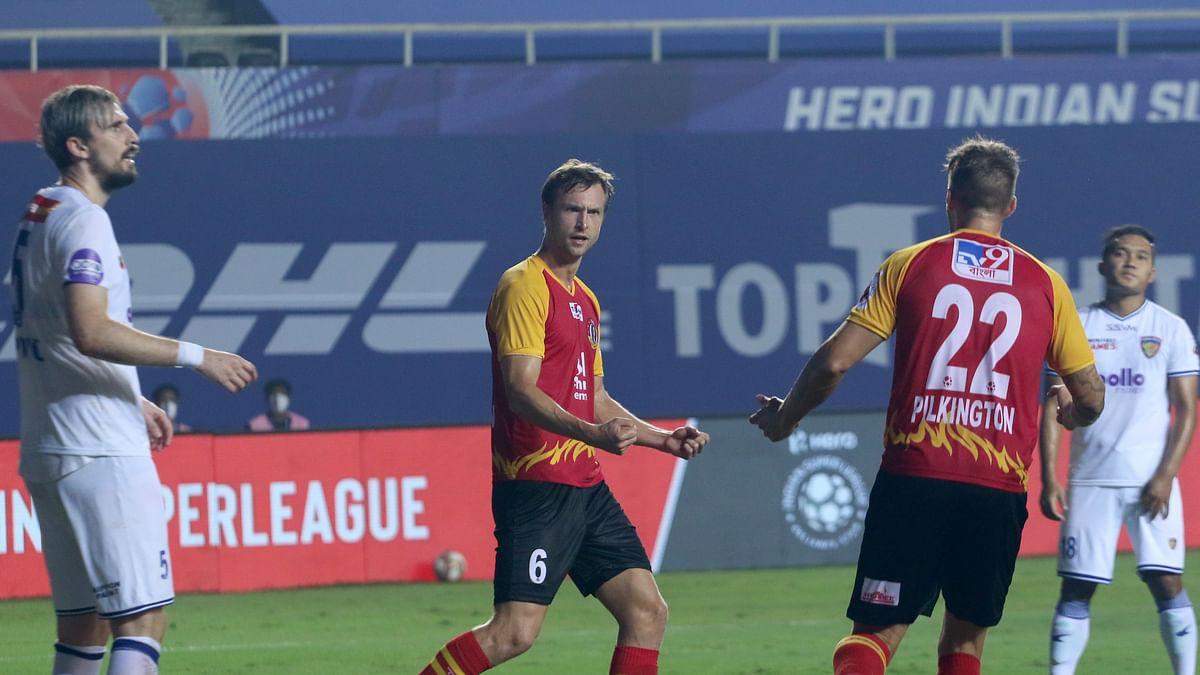 Football ISL: Steinmann brace helps East Bengal to hold Chennaiyin to 2-2 draw