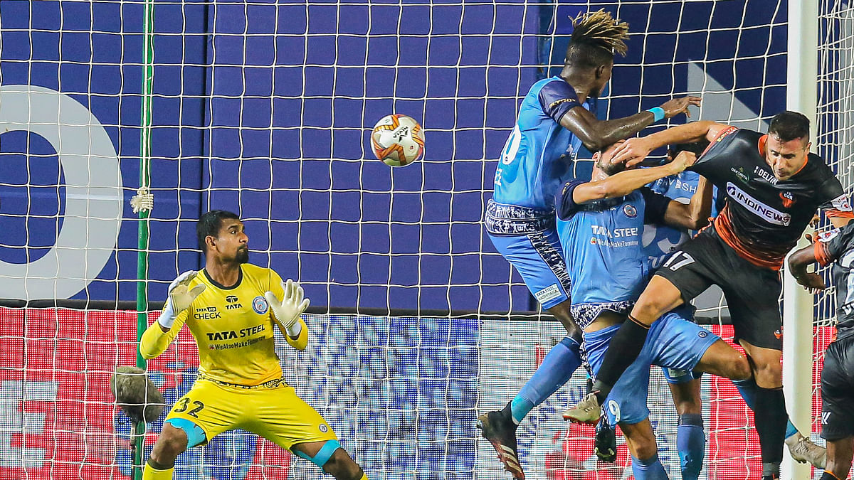 Angulo brilliance hands Gaurs early Christmas present against Jamshedpur