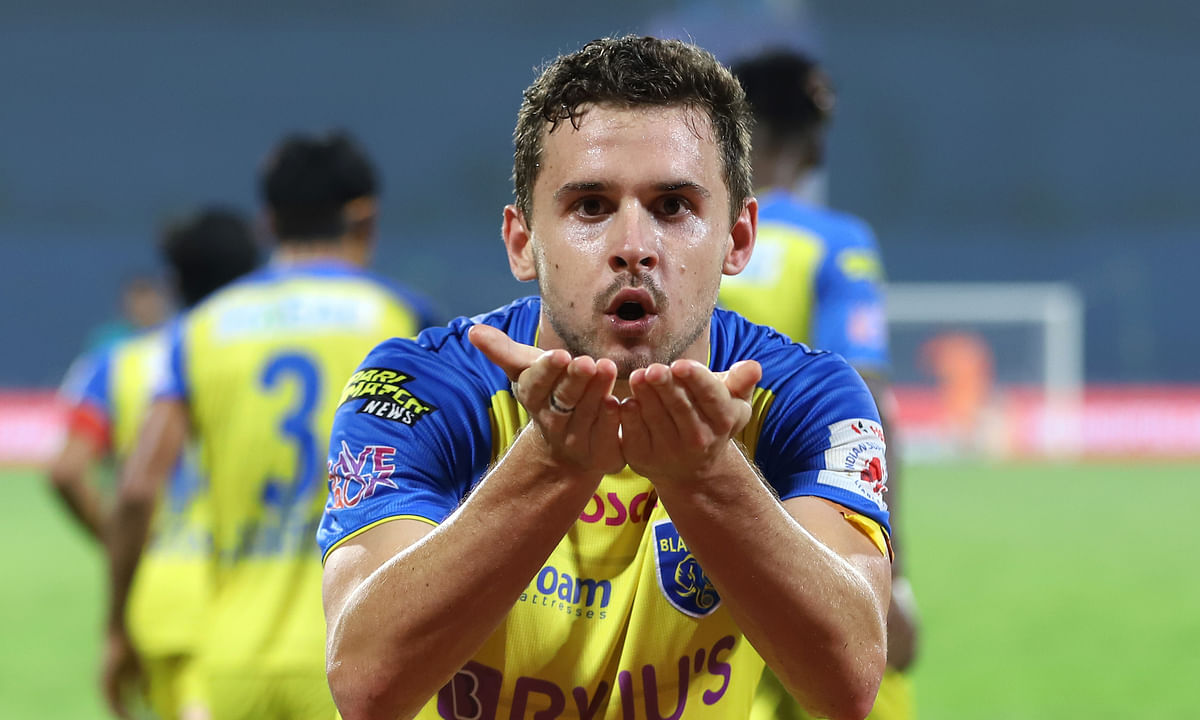 Jordan Murray's goal ensured all three points for Kerala Blasters against Hyderabad FC during match 40 of Hero ISL7 at the Bambolim Stadium on Sunday.
