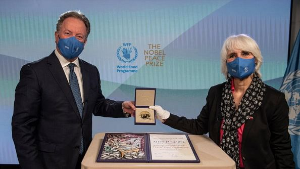 WFP chief uses Nobel speech as call for action to avert 'hunger pandemic'