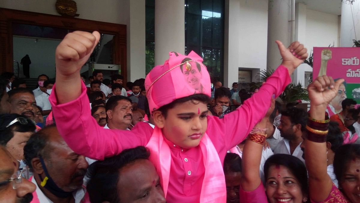 Hyderabad civic polls produce fractured mandate, TRS single largest party