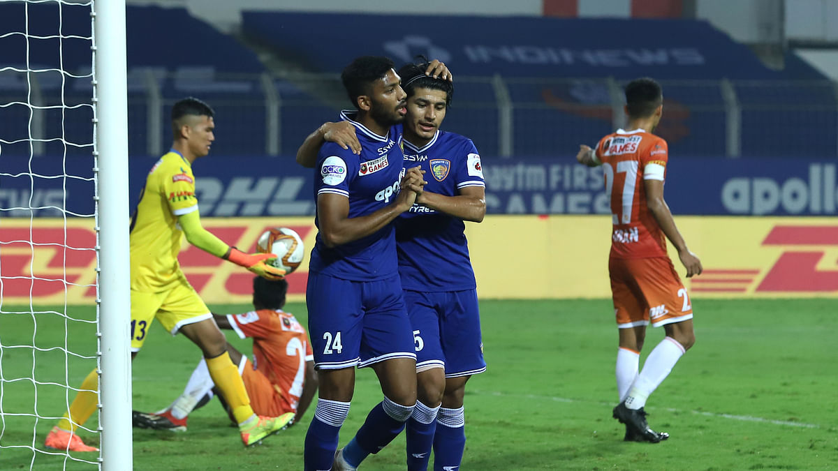Football ISL: Chennaiyin overpower Goa 2-1
