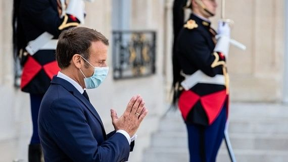 Macron's condition 'stable' after Covid-19 diagnosis