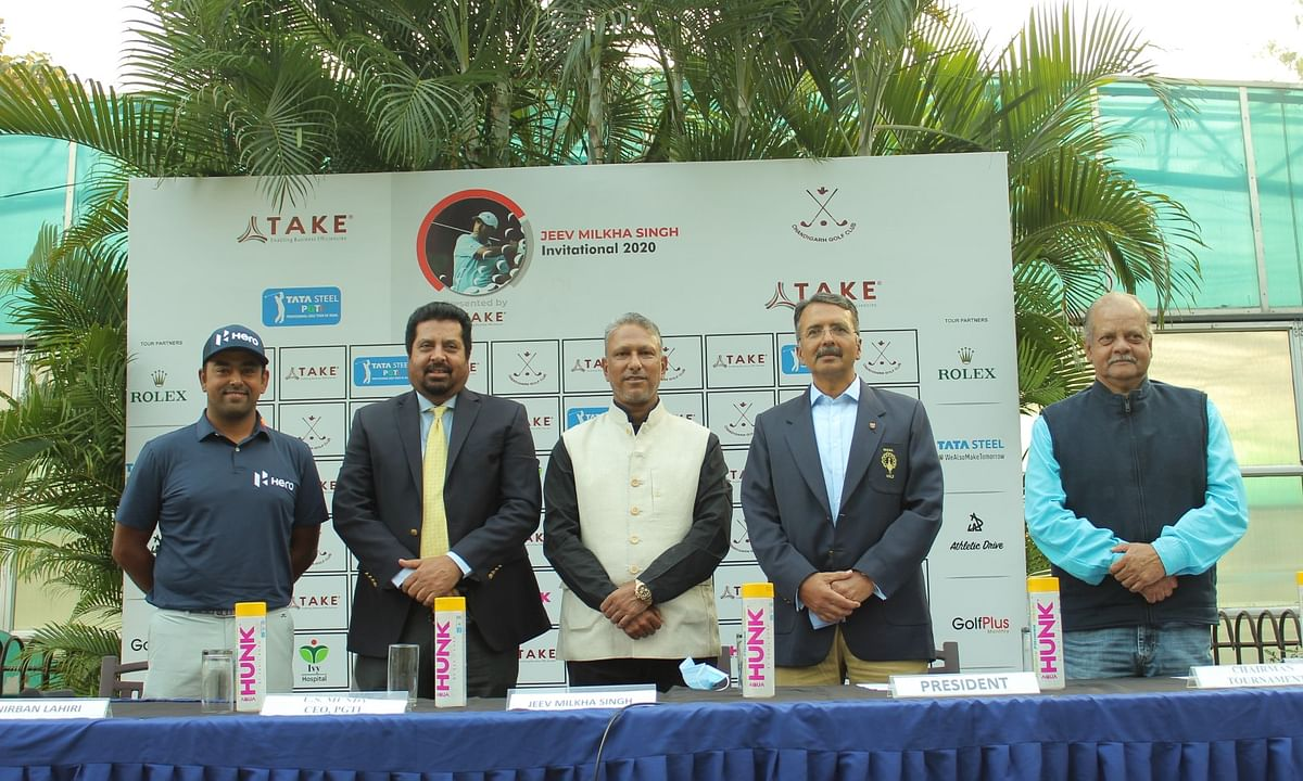 Golf: Star-studded field for Jeev Milkha Singh Invitational 2020