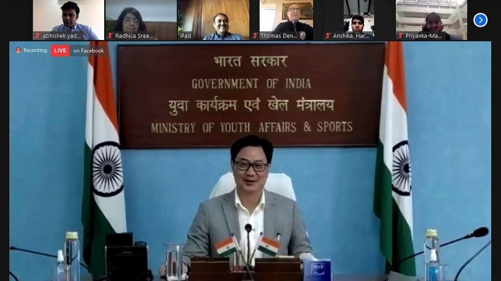 Sports Minister Kiren Rijiju, AIFF chief  Praful Patel assure full support to women's football