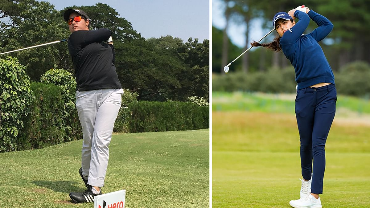 Golf: Amandeep cards 70 to take the lead in 8th Leg of Hero WPGT