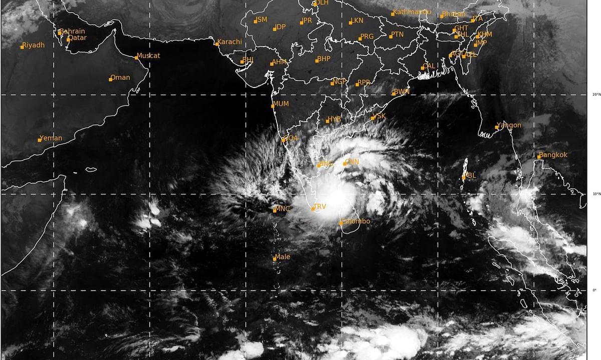 IMD issues cyclone warning for south Tamil Nadu, south Kerala coasts