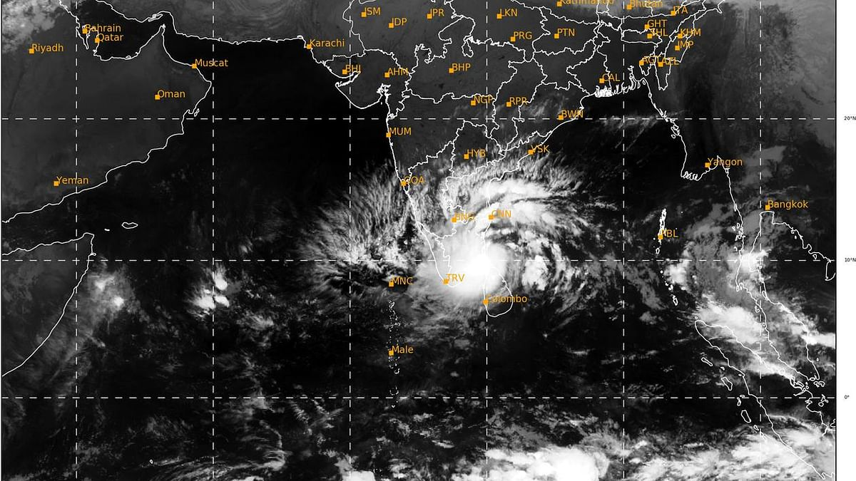 IMD issues cyclone warning for south Tamil Nadu, south Kerala coasts