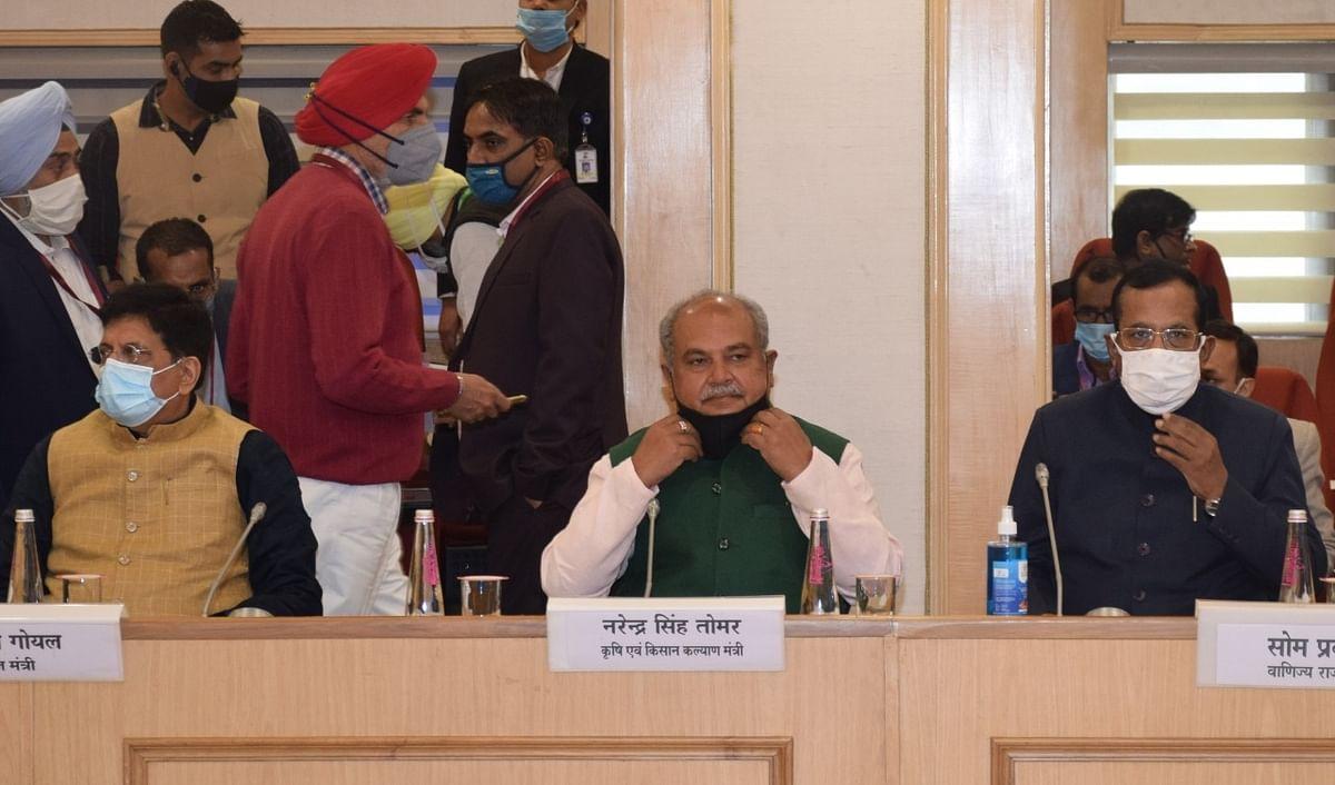 Ministers Narendra Singh Tomar, Piyush Goyal lead 4th round of govt-farmer talks