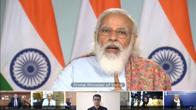 PM interacts with industries, startups and academia from space sector