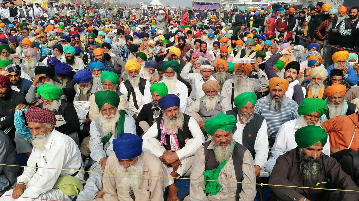 Day 30 of farmers' stir: Demand for law on MSP guarantee grows