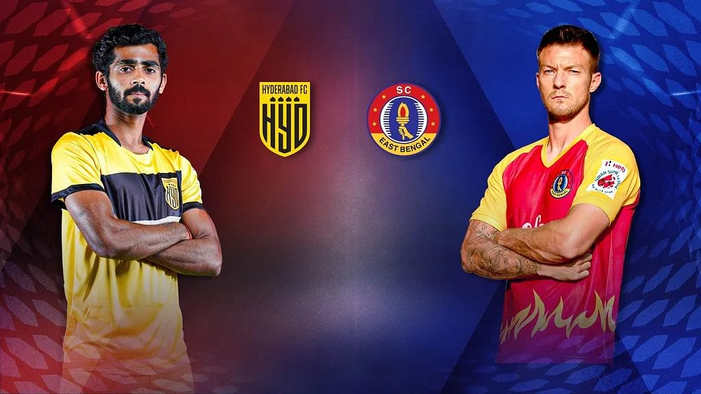 Football ISL: Hyderabad to face East Bengal in pressure encounter