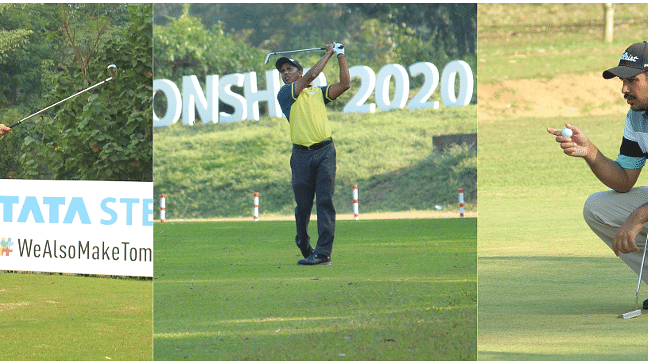 Golf: Three-way tie at top between Bhullar, Chawrasia, Malik at Tata Steel Tour Championship