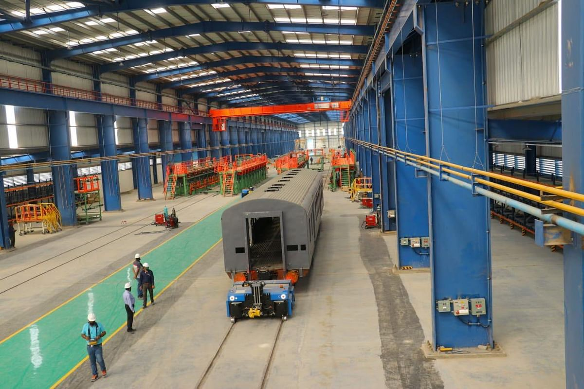 Marathwada Rail Coach Factory at Latur completes production of first coach shell