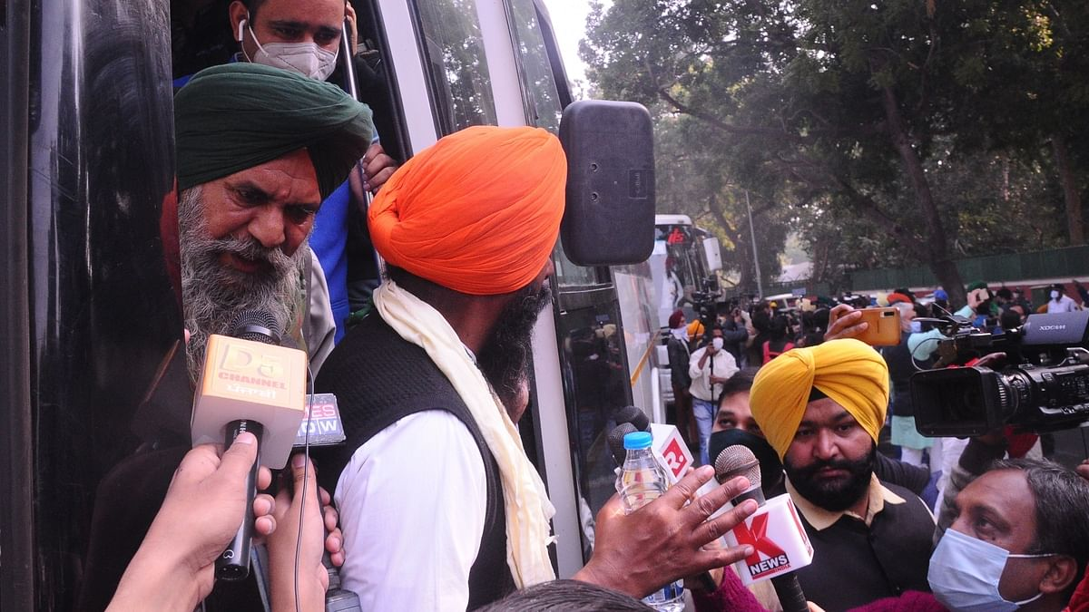 Farmers' protest: No breakthrough in talks, next round on December 5